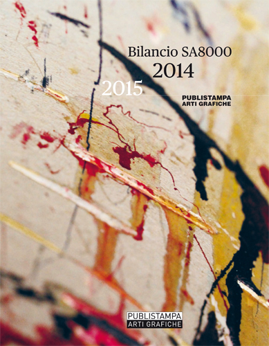 Certificazione Impresa Etica | Bilancio sociale Publistampa arti grafiche 2014/2015
