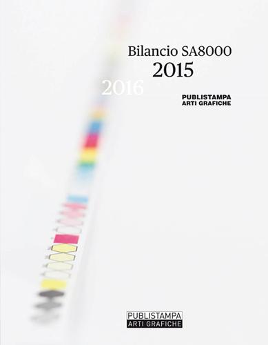 Certificazione Impresa Etica | Bilancio sociale Publistampa arti grafiche 2015