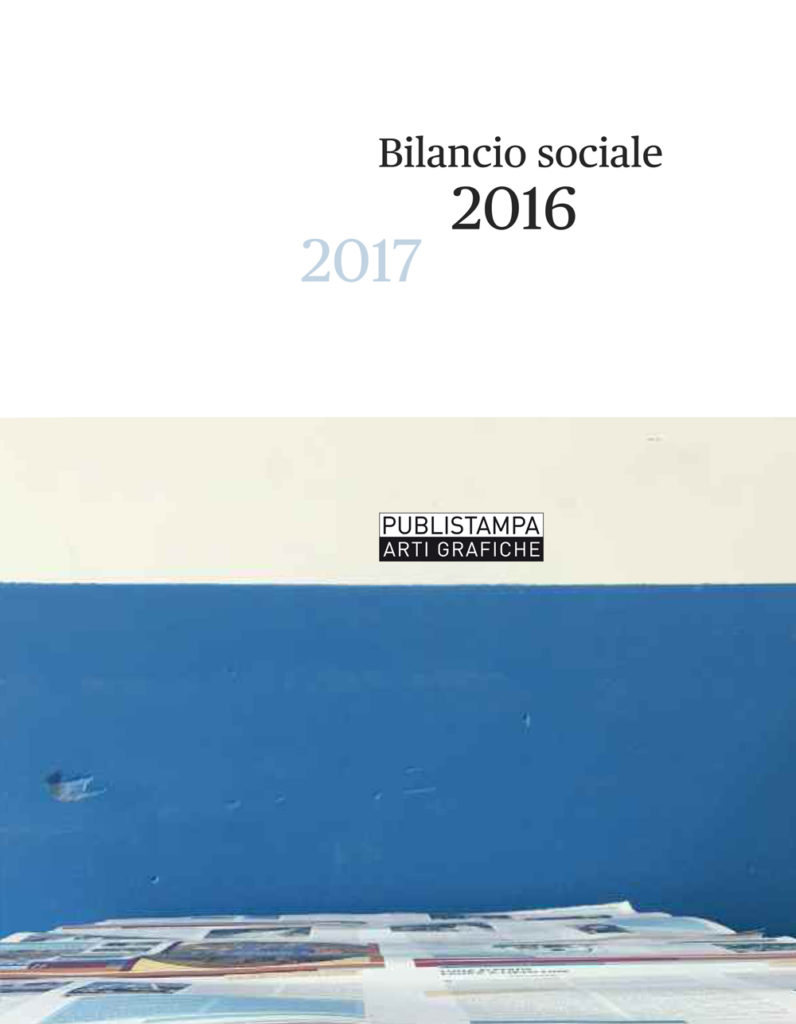 Certificazione Impresa Etica | Bilancio sociale Publistampa arti grafiche 2016/2017