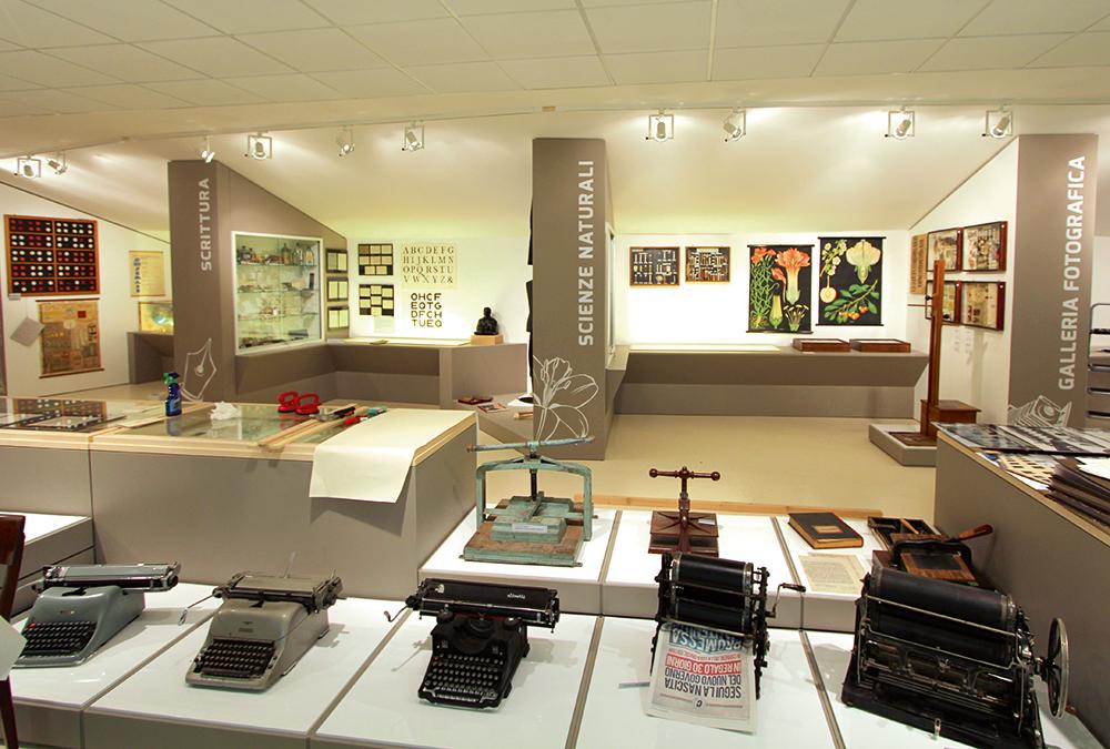 Allestimento Museo della scuola Pergine