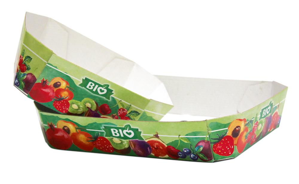 Vassoi in cartoncino per alimenti