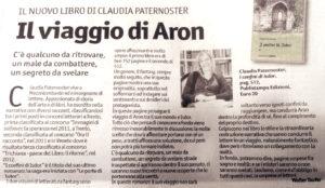 """""""Il viaggio di Aron"""", Vita Trentina - 8-13 marzo 2020"""