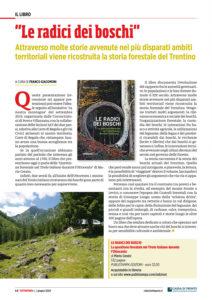 """""""Il libro: Le radici dei boschi"""", Tuttapovo - giugno 2020"""