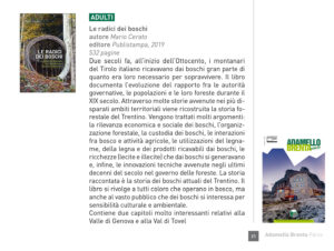 """Le radici dei boschi"", Adamello Brenta Parco n. 1 - 2020"