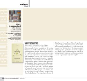 """Cultura libri: """"Ventodentro"""", Cooperazione tra consumatori - marzo 2021"""