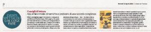 """Api, arnie e miele: dinamiche e problemi di una società complessa"""", Corriere del Trentino – 16 aprile 2021"""